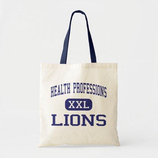 Health Professions - Lions - High - Dallas Texas Canvas Bag