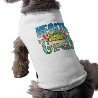 Health Troll Sleeveless Dog Shirt