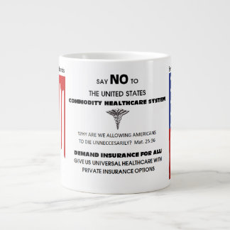 HealthCare Must Become A Right Large Coffee Mug