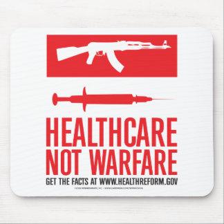 Healthcare NOT Warfare Mousepads