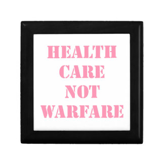 Healthcare Not Warfare Pink Gift Box