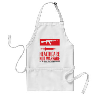 Healthcare NOT Warfare Standard Apron