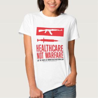 Healthcare NOT Warfare Tshirts