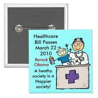 HEALTHCARE PASSES BUTTON
