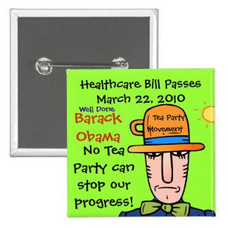 HEALTHCARE PASSES PIN