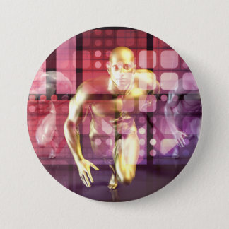 Healthcare Research Technology and Solutions as a 7.5 Cm Round Badge