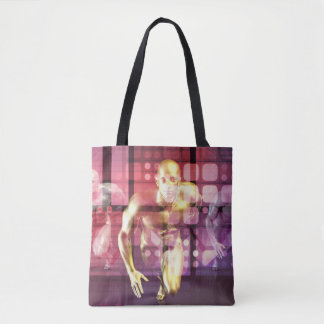Healthcare Research Technology and Solutions as a Tote Bag