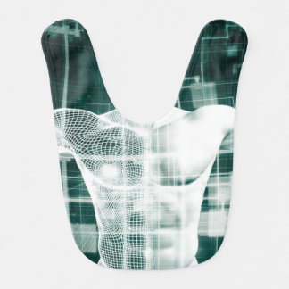 Healthcare Technology and Medical Scan Baby Bibs