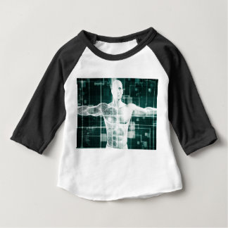 Healthcare Technology and Medical Scan of a Body Baby T-Shirt