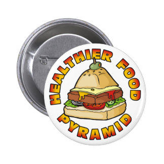 Healthier Food Pyramid Buttons