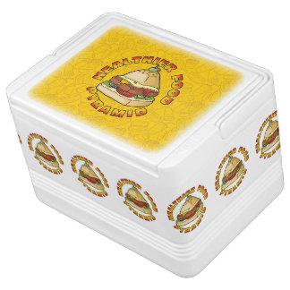 Healthier Food Pyramid Cooler