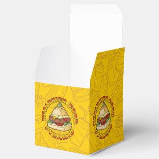 Healthier Food Pyramid Favour Box