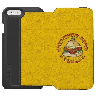 Healthier Food Pyramid Incipio Watson™ iPhone 6 Wallet Case