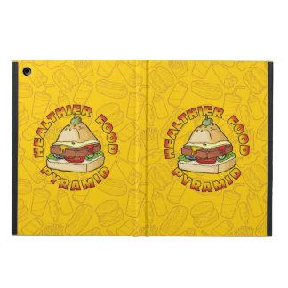 Healthier Food Pyramid iPad Air Cases