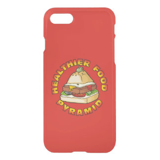 Healthier Food Pyramid iPhone 7 Case