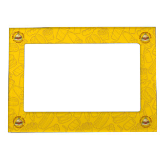 Healthier Food Pyramid Magnetic Frame