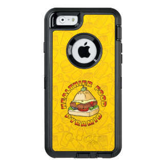 Healthier Food Pyramid OtterBox iPhone 6/6s Case