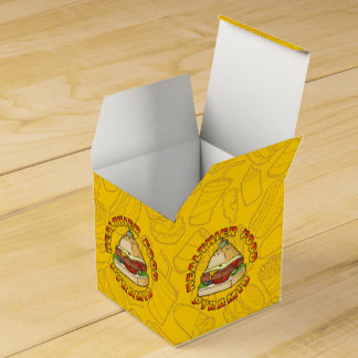 Healthier Food Pyramid Party Favour Box