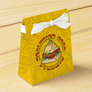 Healthier Food Pyramid Party Favour Boxes