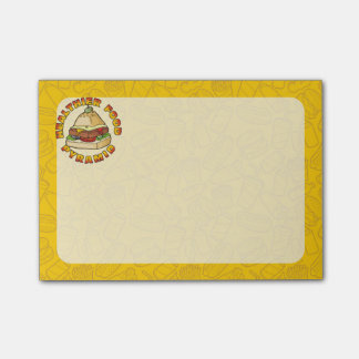 Healthier Food Pyramid Post-it® Notes