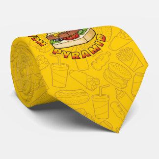 Healthier Food Pyramid Tie