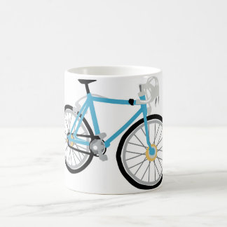 Healthy biking coffee mug