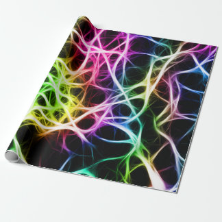 Healthy Colourful Neuron Wrapping Paper