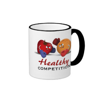 Healthy Competition Boxing Fruit mug