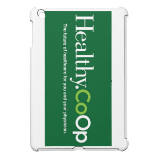 Healthy.CoOp logo ipad case