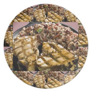Healthy Diet Chicken n Rice Chefs Fine Cuisine Plates