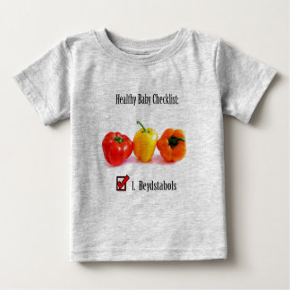 Healthy (Filipino) Baby Checklist Baby T-Shirt