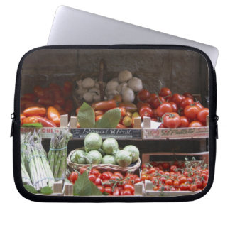 healthy fresh produce computer sleeves
