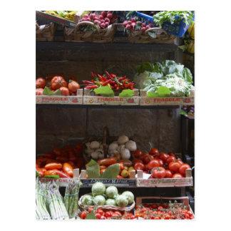 healthy fresh produce postcard
