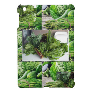 Healthy green leafy vegetable salads chefs cuisine iPad mini cover