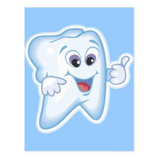 Healthy Happy Teeth Postcard