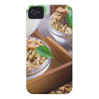 Healthy ingredients for breakfast iPhone 4 cases