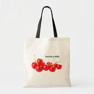 Healthy Redcurrant Bunch Tote Bag