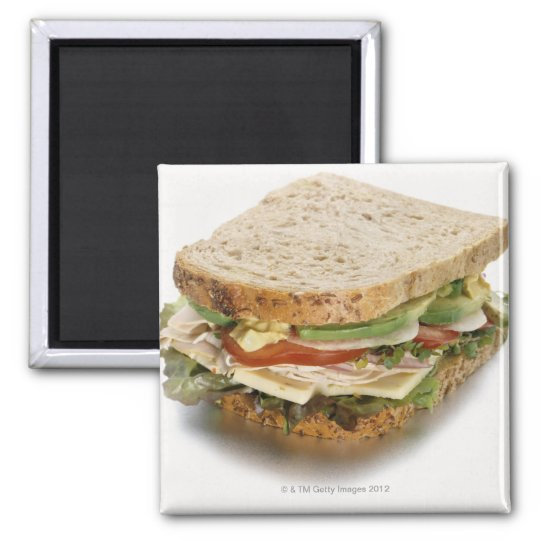 Healthy sandwich magnet
