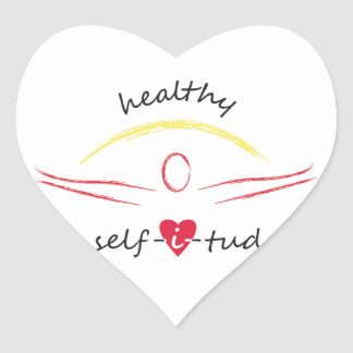 Healthy Selfitude stickers
