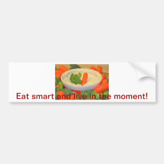 Healthy Vegetables Photograph Bumper Sticker