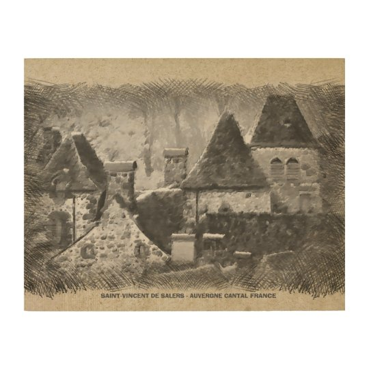 HEALTHY - VINCENT OF SALERS WOOD WALL DECOR
