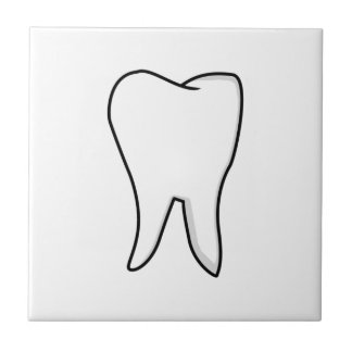 Healthy White Tooth Ceramic Tile