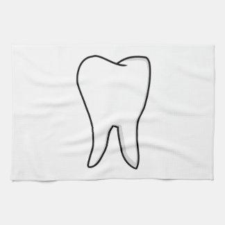 Healthy White Tooth Tea Towel