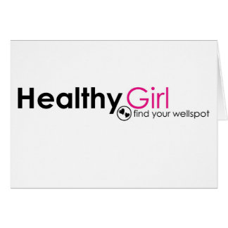 HealthyGirl Note Card