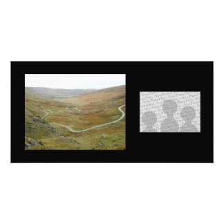Healy Pass, Beara Peninsula, Ireland. Personalised Photo Card