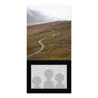 Healy Pass Winding Road in Ireland Customized Photo Card
