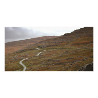 Healy Pass Winding Road in Ireland Photo Greeting Card