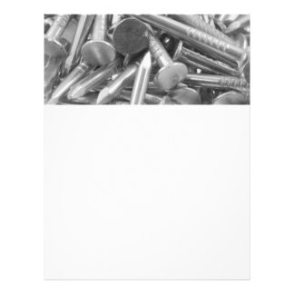 Heap of the carpentry's nails 21.5 cm x 28 cm flyer