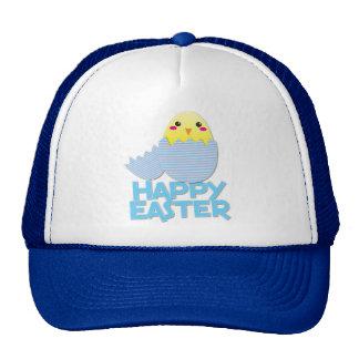 heappy easter super cute chick cap
