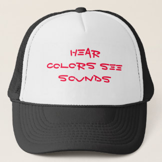 Hear COLORS See SOUNDS Trucker Hat